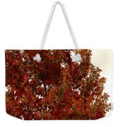 Autumn Oak On A Cloudy Day Weekender Tote Bag