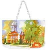 Autumn Observations Watercolor Weekender Tote Bag