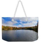 Autumn On Lake Plumbago Weekender Tote Bag