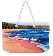 Autumn On Lake Superior Weekender Tote Bag