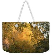 Autumn On The Bosque Weekender Tote Bag