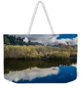 Autumn On The Klamath 10 Weekender Tote Bag
