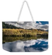 Autumn On The Klamath 11 Weekender Tote Bag