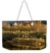 Autumn On The Klamath 3 Weekender Tote Bag