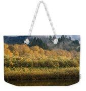 Autumn On The Klamath 4 Weekender Tote Bag
