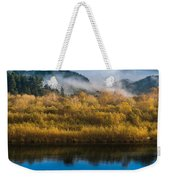 Autumn On The Klamath 5 Weekender Tote Bag
