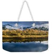 Autumn On The Klamath 7 Weekender Tote Bag