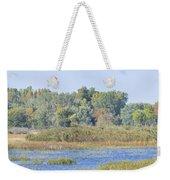 Autumn On The Marsh Weekender Tote Bag