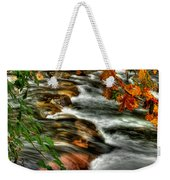 Autumn On The River Weekender Tote Bag