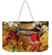 Autumn On The Rocks 2 Weekender Tote Bag