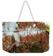 Autumn On The Wagon Weekender Tote Bag