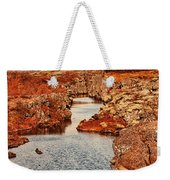 Autumn Or Fall Weekender Tote Bag by Jasna Buncic