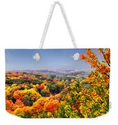 Autumn Over The Rolling Hills Weekender Tote Bag
