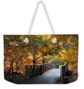 Autumn Overpass Weekender Tote Bag