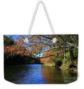 Autumn Paddle On The Quinnebaug  Weekender Tote Bag