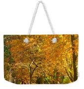 Autumn Park Weekender Tote Bag