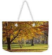 Autumn Park Weekender Tote Bag
