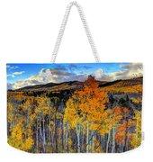 Autumn Pass Weekender Tote Bag