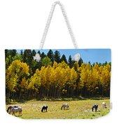 Autumn Pasture Weekender Tote Bag