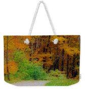 Autumn Peak Colors Weekender Tote Bag