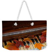 Autumn Piano 1 Weekender Tote Bag