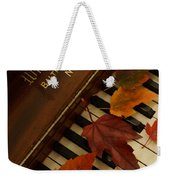 Autumn Piano 11 Weekender Tote Bag