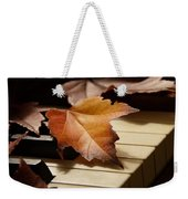 Autumn Piano 13 Weekender Tote Bag