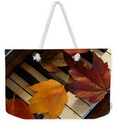 Autumn Piano 2 Weekender Tote Bag