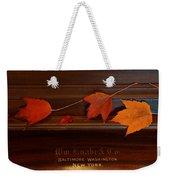 Autumn Piano 3 Weekender Tote Bag
