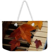Autumn Piano 6 Weekender Tote Bag