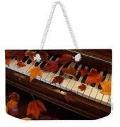 Autumn Piano 7 Weekender Tote Bag