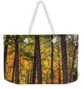 Autumn Pines Square Weekender Tote Bag