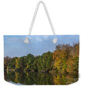 Autumn Pond Weekender Tote Bag