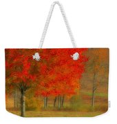 Autumn Popping Weekender Tote Bag