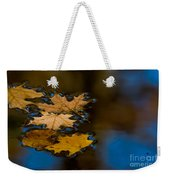 Autumn Puddle Weekender Tote Bag