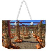 Autumn Pumpkin Patch Weekender Tote Bag by Joann Vitali