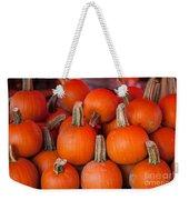 Autumn Pumpkins Weekender Tote Bag