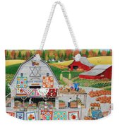 Autumn Quilts Weekender Tote Bag