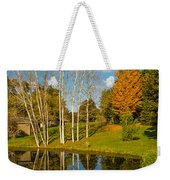Autumn Reflecting Weekender Tote Bag