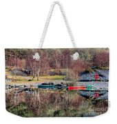 Autumn Reflections Weekender Tote Bag by Adrian Evans
