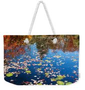 Autumn Reflections Weekender Tote Bag by Bill Wakeley