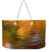 Autumn Reflections In Pond Weekender Tote Bag