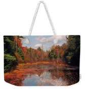 Autumn Reflections Weekender Tote Bag by Joann Vitali