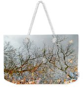 Autumn Reflections On Alloway Lake Nj Weekender Tote Bag
