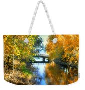 Autumn Reflections On A Friday Afternoon Weekender Tote Bag