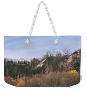 Autumn Remains In January Weekender Tote Bag