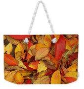 Autumn Remains Weekender Tote Bag