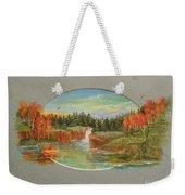 Autumn Reverence Weekender Tote Bag