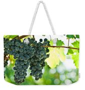 Autumn Ripe Red Wine Grapes Right Before Harvest Weekender Tote Bag by Ulrich Schade