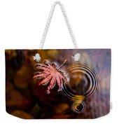 Autumn Ripples Weekender Tote Bag by Mike Reid
